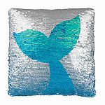 Magic Sequin Mermaid Tail Pillow