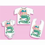 Mermaid Onesie 6 Months