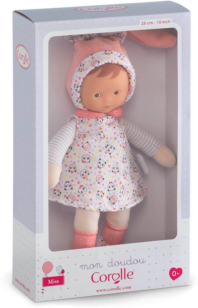 Pink Corolle mon doudou Miss Floral Bloom Toy Baby Doll