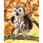 Saw-Whet Owl Puppet
