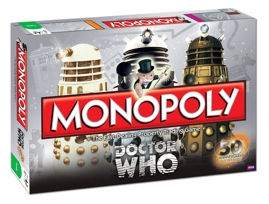 Dr doctor who 50th anniversary monopoly collectors edition board.