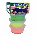 Scented Neon Fidget Putty - 3 Pack