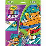 Color Magic: Neon Cosmic Cats