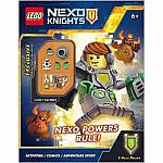 LEGO NEXO Knights: NEXO Powers Rule! (Activity book with figure)