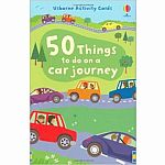50 Things To Do On A Car Journey Cards