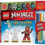 Klutz Lego Ninjago - How To Draw Ninja, Villains, And More! Drawing Set