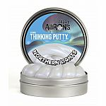 Cosmic - Northern Lights (glow in the dark) - Crazy Aaron's Thinking Putty