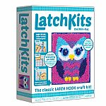Latchkits - Owl Mini-Rug