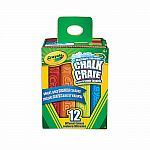 Washable Sidewalk Chalk, 12 Ct
