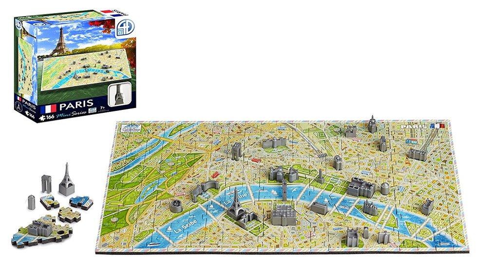 mini paris 4d puzzle toy sense. Black Bedroom Furniture Sets. Home Design Ideas