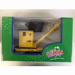 Lehmann Toy Train Flat car with working Crane G scale
