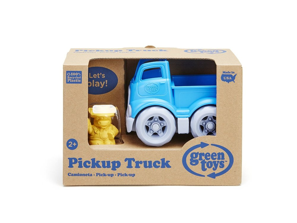 Toys For Trucks Green Bay : Pickup truck with character toy sense
