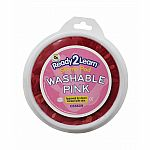 Jumbo Circular Washable Ink Pad - Pink