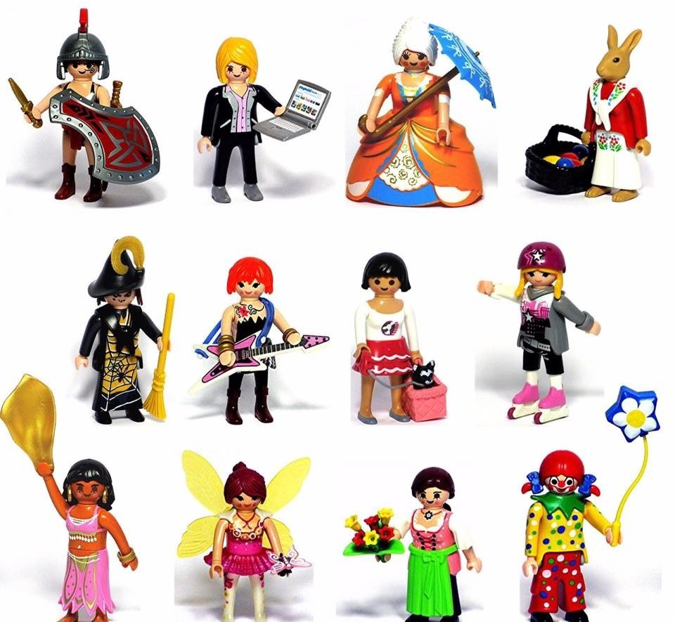 Playmobil Figures Series 8 Girl Retired Product Toy
