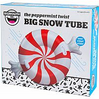 The Peppermint Twist Big Snow Tube