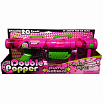 Atomic Double Barrel Popper - Pink