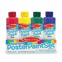 Washable Poster Paint Set of 4