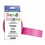 Bendi Bricks Double Roll - Pink
