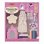 Decorate-Your-Own Princess Set