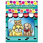 Playful Puppies and Cuddly Kittens - Do A Dot Art! Creative Activity Book