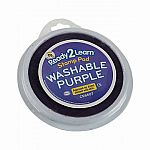 Jumbo Circular Washable Ink Pad - Purple