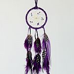 "2.5"" Dream Catcher - Purple"