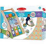 First Play Ring & Ding Forest Friends Push Toy