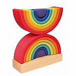 Double Rainbow Stacking Tower