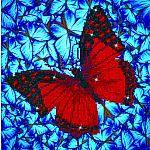 Diamond Dotz - Flutterby Red