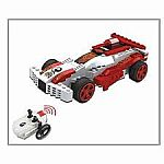 Building Block R/C Vehicle - Red & White Car