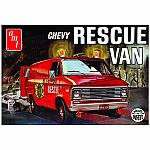 1975 Chevy Rescue Van (White) 1:25 Scale