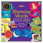 Rhyming Words Puzzle Pairs - Eeboo