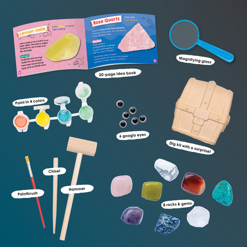 Klutz Painted Rocks Craft Kit