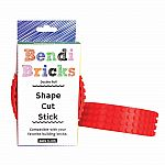 Bendi Bricks Double Roll - Red