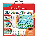 3D Sand Painting - Textured Sand Art Activity Kit