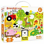 Suuuper Size Puzzle: On The Farm