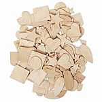 Natural Wood Shapes Assortment