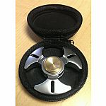 Metal Fidget Spinner With Black Case (Assorted)