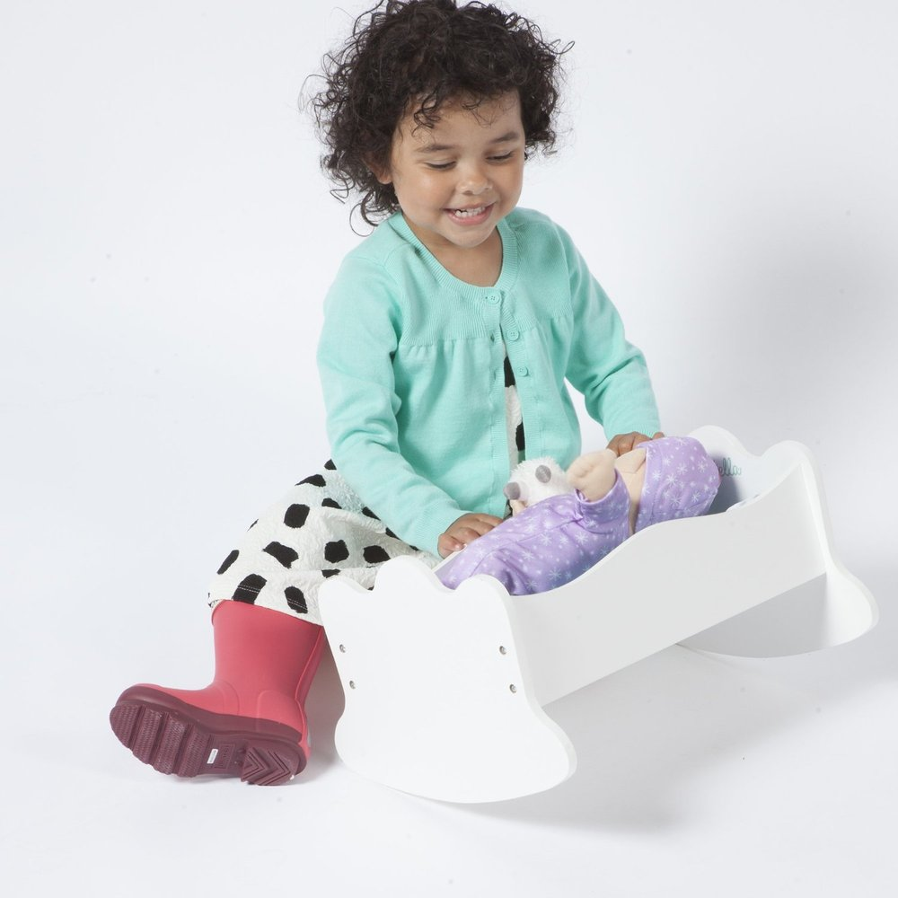Baby Stella Time To Sleep Cradle Toy Sense