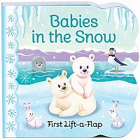 Babies in the Snow - Lift-a-Flap Board Book