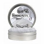 Crazy Aaron's Thinking Putty Sparkle - Snow Day