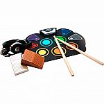 Rock And Roll It! SpecDrum Flexible Roll-Up Drum Kit