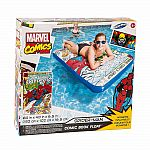 Marvel Comic Book Float