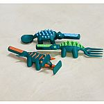 Dino Utensil Set