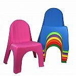 Kids Stacking Chair (Assorted Colours)