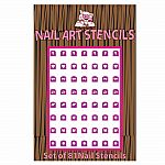 Combo Nail Stencils - Piggy Paint Nail Stickers