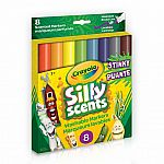 Stinky Silly Scents - Washable Broad Line Markers 8 Pack