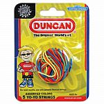 Duncan  Multicolor Yo-Yo String - 5 Pack