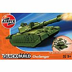 Challenger Tank Quick Build Model