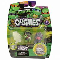 Teenage Mutant Ninja Turtles Ooshies 4 Pack - Series One (Assorted)